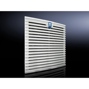 "Rittal 3243200 Outlet Filter, 13 x 13 x 0.98"", ABS"