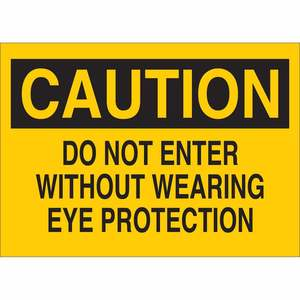 22580 EYE PROTECTION SIGN