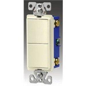 Eaton Wiring Devices 7728LA-SP SWITCH DECO COMB SP/SP 15A 120/277V LA