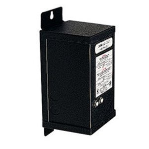 Juno Lighting MAGXFMR-1C-240W-120-12AC-BL Transformer, Magnetic, Remote Mount, 120VAC, 12VDC, 240VA, Black