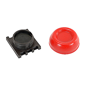 ABB KP6-40R Extreme Duty Pushbutton, Red