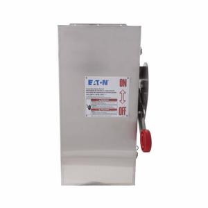 Eaton DH162NWK 60a/1p Hd 600vdc Fusible Safety Switch NEMA4x