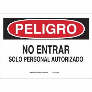 37604 SPANISH SIGN