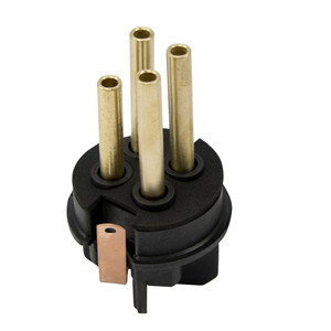 Appleton API6034 Pin & Sleeve Replacement Plug, 60 Amp, 4-Pole, 3-Wire