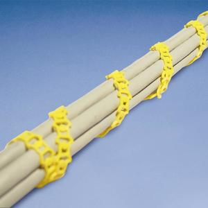 Erico Caddy CATMTLS Tie,wrap,mille Tie Yellow Low Smoke Zero Halogen