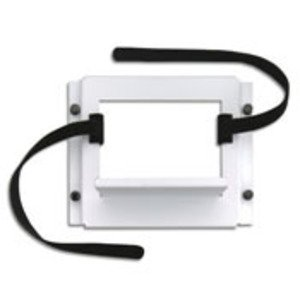 "Leviton 47612-UBK Media Center, Universal, Shelf Bracket, 4 x 8"" Velcro Strips"