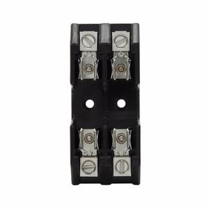 Eaton/Bussmann Series G30060-2CR Class G Fuse Block, 2-Pole, 35-60A, 480V, Box Lug w/Retaining Clip