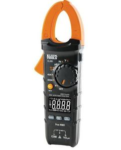 Klein CL380 AC/DC Digital Clamp Meter, 400A, Auto-Ranging