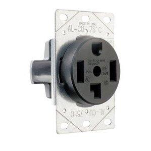 Pass & Seymour 3864 STRAIGHT BLADE RECEP 30A 125/250V 3P 4W