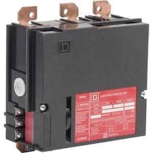 Square D 8903PBQ11BV02 LIGHTING CONTACTOR 600VAC 100A PB