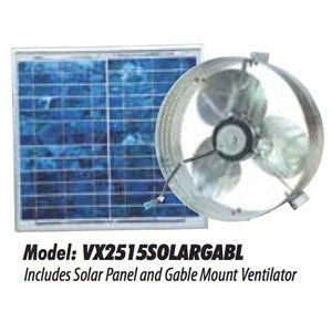 Ventamatic VX2515SOLARGABL SOLAR POWERED