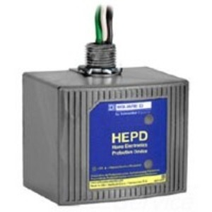 Square D HEPD80 Surge Protection Device, 80kA, 120/240VAC, 1PH, Panel Mount