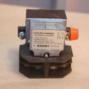 Eaton D26MR005A D26 Series AC Relay