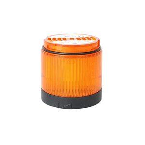 Allen-Bradley 856T-BB5 Light Modules, 70mm, Black Housing, Multi-Function LED, Amber, Lens