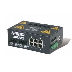 N-TRON 508FX2-A-SC Ethernet Switch, 8 Port, Advanced Management Features, N-View