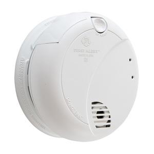 BRK-First Alert 7010LBL Smoke Alarm, Photoelectric, 120V AC