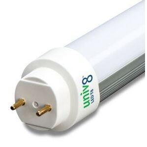 Forest Lighting T8U450-15-TP 4' LED Tube, 5000K, 15 Watt, 100-277V, 50/60Hz
