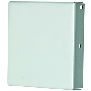 "nVent Hoffman F66GCPNK Wireway Closure Plate, 6"" x 6"", Type 1, Gray, No KOs"