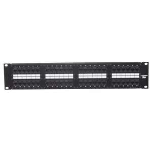 Hubbell-Premise PG48 P-PANEL GIGABIT 48-PORT BK