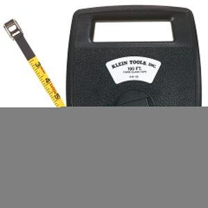Klein 946-100 100' Woven Fiberglass Tape Case