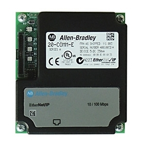 Allen-Bradley 20-COMM-E Communications Adapter, Ethernet/IP for PowerFlex Drives