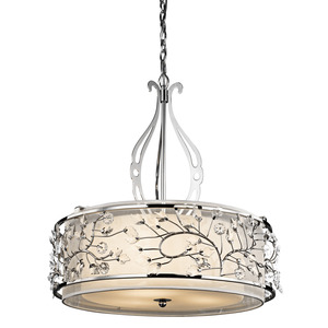 Kichler 42391CH INVERTED PENDANT 3LT *** Discontinued ***