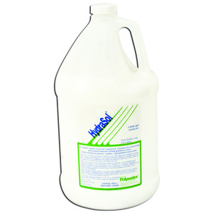 American Polywater HS-128 HydraSol® Cable Gel Remover, Water Based Solvent - 1 Gallon Jug