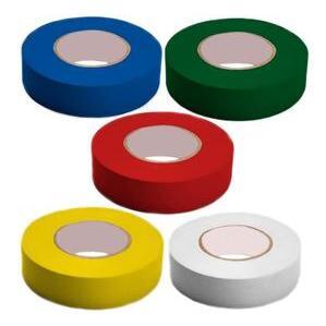 3M 35-MULTI-COLOR Color Coding Electrical Tape - Multi Color Pack