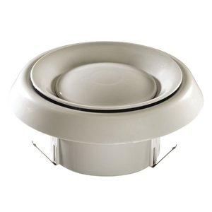 """Nutone CVG6 Grille, 6"""", Round, White"""