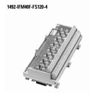 Allen-Bradley 1492-IFM40F-FS120-4 Interface Module, Fusible, Digital, 40 Point, 120V AC/DC, BFI