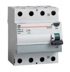 ABB FPAUL-463/030 Breaker, DIN Rail, Residual Current, Ground Fault Device, 60A, 240VAC