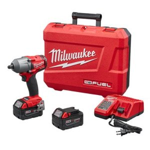 "Milwaukee 2860-22 M18 FUEL 1/2"" Impact Wrench Kit w/ Pin Detent"