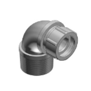 "Thomas & Betts 2267 1/2"" 90° Liquidtight Cord Connector, Iron, 0.125-0.250"""