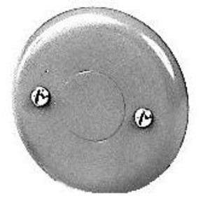 Wiremold V5731 Round Blank Cover, 500/700 Series Raceway, Steel, Ivory