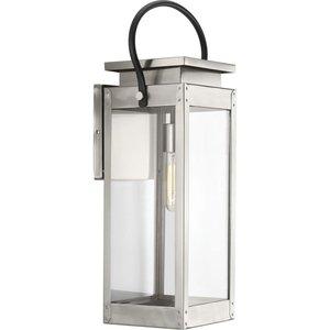 Progress Lighting P560006-135 1-Lt. Stainless Steel Large Wall-Lantern