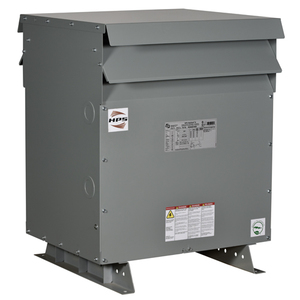 Hammond Power Solutions SG3A0112PK Transformer, Dry Type, 112.5kVA, 600 Delta - 480Y/277VAC, 3PH, DH3 Case