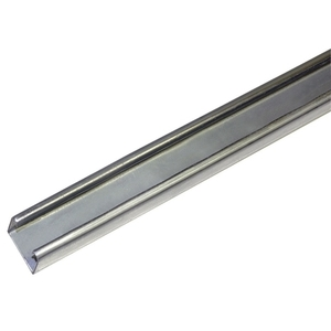 "Unistrut P1000-10PG Channel - No Holes, Steel, Pre-Galvanized, 1-5/8"" x 1-5/8"" x 10'"