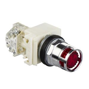 9001K3L1RH13 P-BTN 600VAC 10A30MM T-K