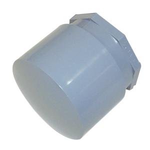 Topaz 1090B TPZ 1090B 6IN PVC END CAP