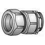 """OZ Gedney 31-075 Rigid Compression Connector, 3/4"""", Malleable, Concrete Tight"""