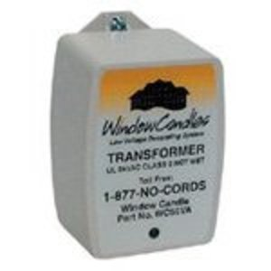 Window Candles WC50VA Window Candles Transformer, Plug-In, 15 Candles