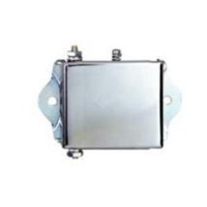 Edwards 15-1G1 Buzzer, Miniature, 24VDC, 0.1A, 78 dB @ 10', Chrome/Zinc