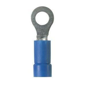 Panduit EV14-14RB-Q StrongHold Ring Terminal, Vinyl Insul, 1