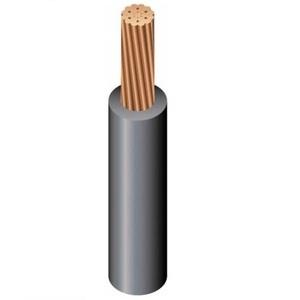 Southwire 11304399 250 XHHW Stranded Copper, Black, SIMPULL, 300'