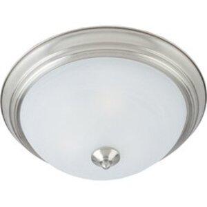 Maxim Lighting 5842MRSN Ceiling Light, 3 Light, 60W, Satin Nickel