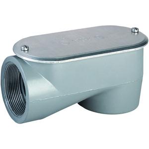 "Hubbell-Killark SOLB-9 3-1/2"" LB Hub, Aluminum Service Conduit Body"