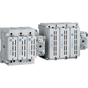 Allen-Bradley 194R-J30-1753-PYN1 Disconnect Switch, 30A, 600VAC, 250VDC, Fused, w/Handle, Shaft