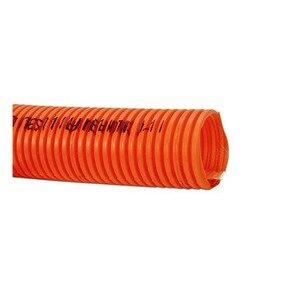 "Carlon DE4X1-1000 Riser-Gard Corrugated Flexible Conduit, 3/4"", Orange, 1000'"