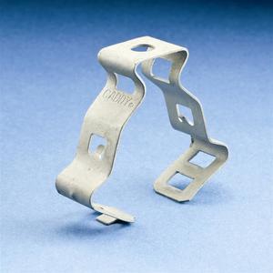 "Erico Caddy 6M4I Conduit Clip, Type: Flex, Size: 3/8"", 1/4-20 Thread, Steel"