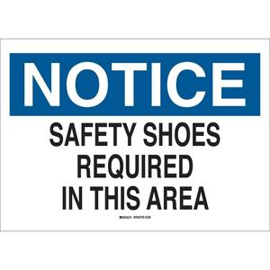 25234 PROTECTIVE WEAR SIGN